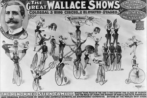 The Great Wallace Shows - Gumas