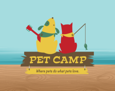 PetCamp - Brand Design - Gumas